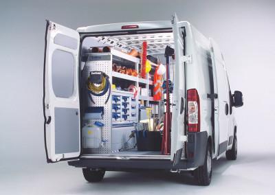 VarioLineComposite Bodensysteme für Transporter // VarioLineComposite floor systems for vans